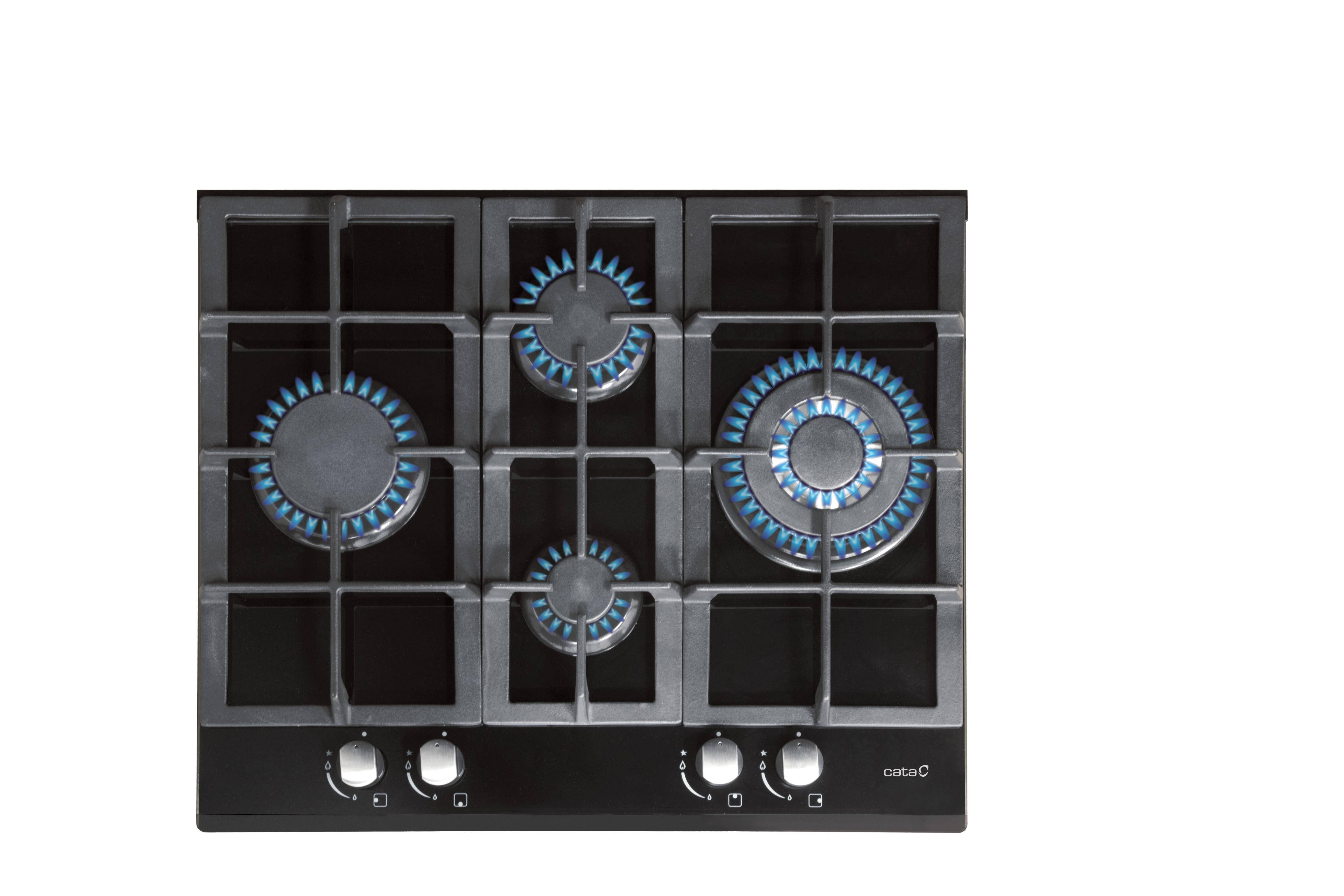 Placas De Cocina De Gas Natural | Placas Placas A Gas Cata Electrodomesticos