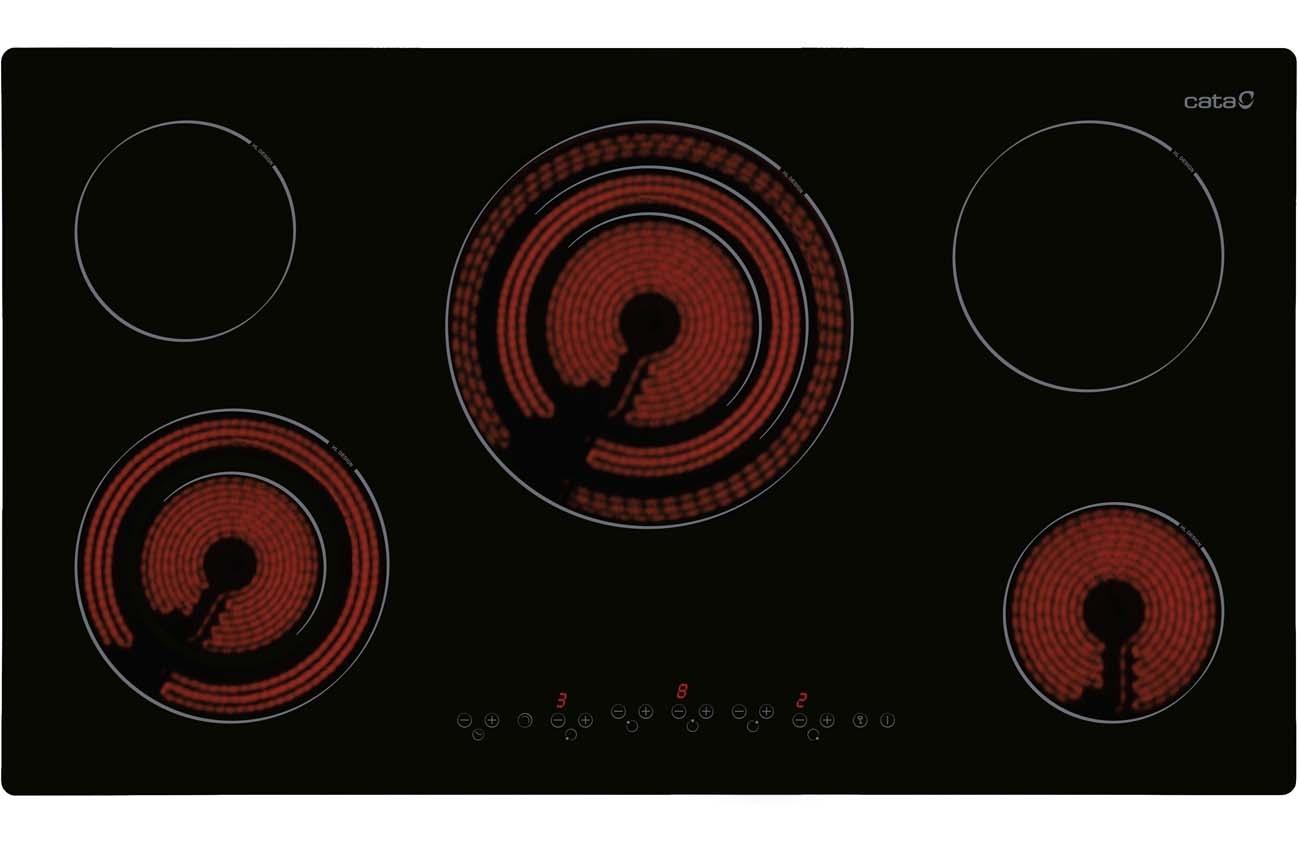 Placas placas vitrocer micas cata electrodom sticos - Placas vitroceramicas de gas ...